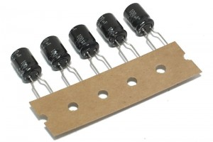 OUTSALE ELECTROLYTIC CAPACITOR NP 100µF 25V 105°C 5pcs