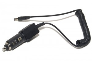 RETAIL CIGARETTE LIGHTER CABLE WITH DC21 CONNECTOR 1m
