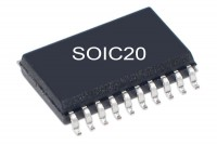 5V/3,3V LOGIC IC LATCH 74573 LVX-FAMILY SO20