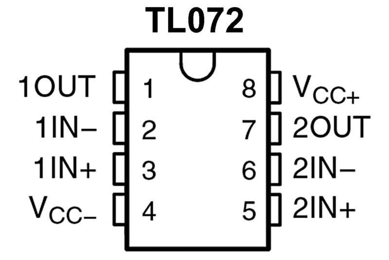 mikropiiri opampd tl072