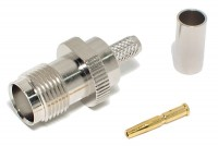 TNC CONNECTOR FEMALE CRIMP RG58