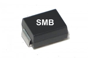 SMD TRANSIENT SUPPRESSOR UNIDIR 600W 6,8V SMB