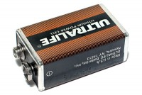 "LITHIUM BATTERY 9V ""ULTRALIFE"""