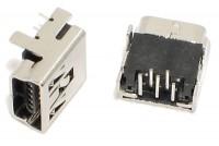 USB miniB SOCKET ANGLED PCB