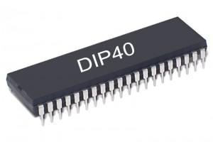 i51 MIKROKONTROLLERI 80C39AP DIP40