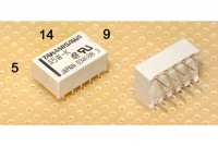 MINIATURE RELAY DPDT 5VDC