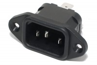 IEC C14 POWER ENTRY SOCKET