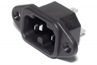 IEC C16A POWER ENTRY SOCKET 155°C