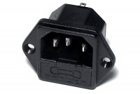 IEC C14 POWER ENTRY SOCKET +FUSE HOLDER