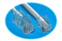 MODULAR PHONE LINE CORD RJ45/RJ12 10m