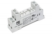 GENERAL PURPOSE RELAY SOCKET DIN-RAIL DPDT