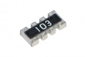 RESISTOR NETWORK SMD 0603 8-4: 100ohm