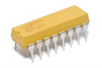 RESISTOR NETWORK DIL 14-13: 100ohm