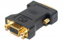DVI-I MALE / VGA FEMALE ADAPTER