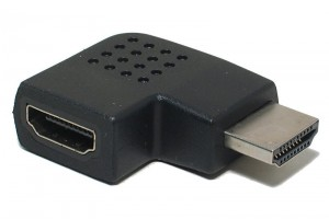 HDMI CABLE COUPLER RIGHT ANGLE