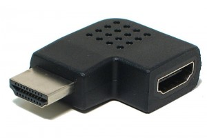 HDMI KULMA-ADAPTERI VASEMMALLE