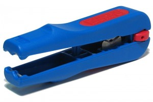 COAXIAL CABLE STRIPPER TOOL WITH CUTTER 4,8-7,5mm