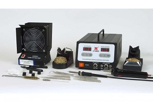 Xytronic LF-8800 LF Digital Soldering and Desoldering Station