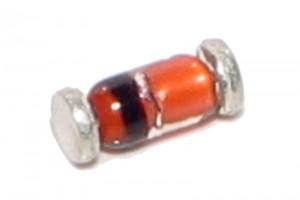 ZENER-DIODI SOD80 0,5W 62V