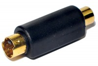 ADAPTER SVHS MALE / RCA FEMALE