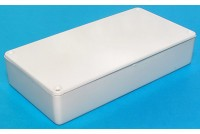 WHITE PLASTIC BOX 22x56x110mm
