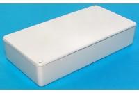 WHITE PLASTIC BOX 22x56x110mm