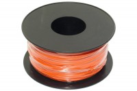 EQUIPMENT WIRE 0,22mm2 ORANGE 100m roll