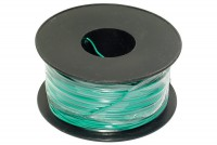 EQUIPMENT WIRE 0,22mm2 GREEN 100m roll