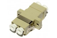 LC-ADAPTER, MM duplex, beige