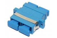 SC-ADAPTER, SM duplex, blue