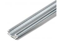 ALUMINIUM LED-STRIPE PROFILE CORNER SILVER 1m