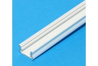 ALUMINIUM LED-STRIPE PROFILE WHITE 1m