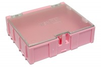 MEDIUM MODULAR SNAP BOX pink