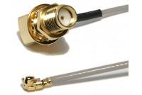 U.FL Ipex 1,32mm - SMA(F)RA 150mm