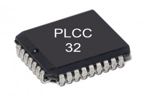 FLASH MEMORY IC 128Kx8 70ns PLCC
