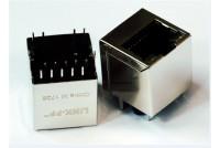 RJ45 10/100 FOR PCB POE + leds