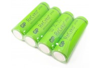 AA-BATTERY NiMH 1,2V 2600mAh 4pcs