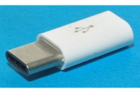 USB-ADAPTER C-MALE / microB FEMALE
