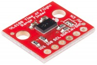 ETÄISYYSANTURI PCB I2C 0-25CM (VL6180)