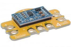 Motion Sensor Crumb Accelerometer for Crumble Controller