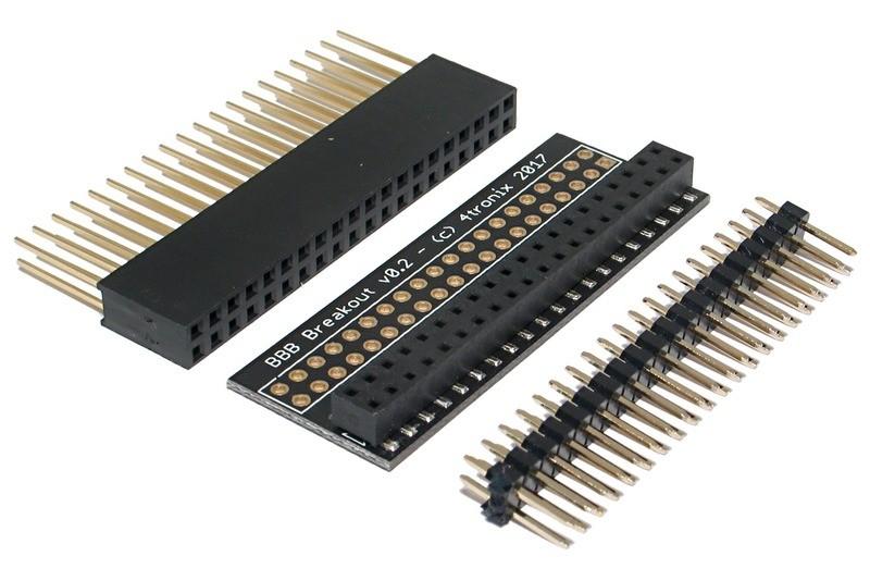IDC-40 Male Header Connector Breakout Board Raspberry Pi Adaptateur
