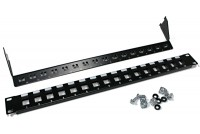OUTSALE 16-PORT KEYSTONE JACK PANEL PLATE