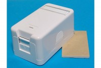 WALL SURFACE MOUNT BOX 1xRJ45