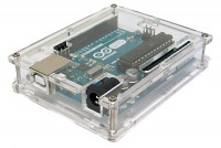 ARDUINO UNO TRANSPARENT ENCLOSURE