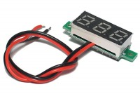 SMALL PANEL VOLTAGE METER 2,5-30V
