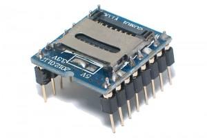AD4/WAV AUDIOSOITIN microSD-LUKIJALLA
