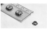 U.FL mikro koaksiaaliliitin katkaistussa nauhassa