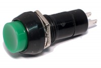PUSHBUTTON SWITCH 1A 250V GREEN
