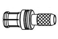 MCX(M) S/T plug for RG-174/316
