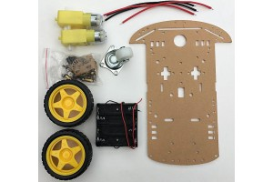 Pizazz 2WD Robotic Chassis